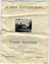 Photo: Wateringbury Parish News September 1953