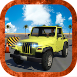 Heavy jeep parking simulator Icon