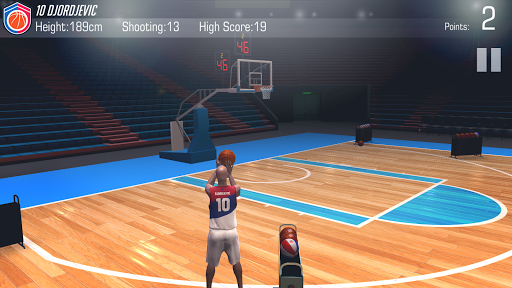 cofe tricheConcours à 3-points - Mon équipe de basketball  1