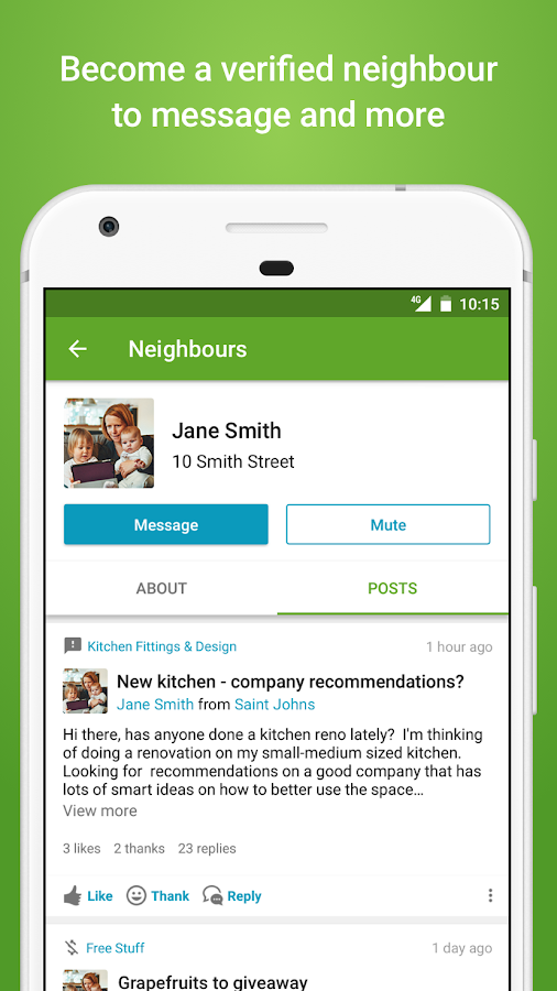 Neighbourly- screenshot