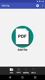 PDF Page Extractor and Removal Screenshot