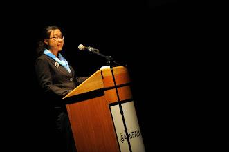 Photo: Mme SHI Xiaoying, Vice Consule du consulat de Chine