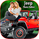 Jeep photo editing icon