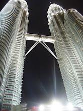 Photo: Petronas Towers on New Year's Eve