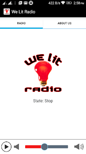 We Lit Radio- screenshot thumbnail
