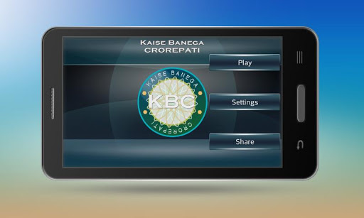 Quiz Game for KBC