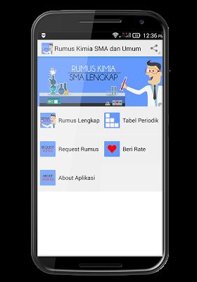 Rumus Kimia SMA - screenshot