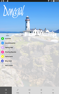 County Donegal Tourism App- screenshot thumbnail