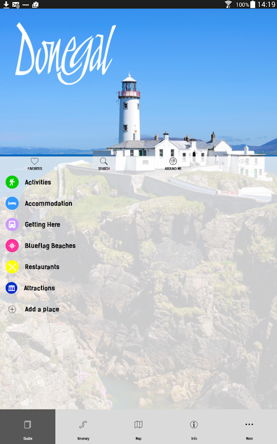 County Donegal Tourism App- screenshot
