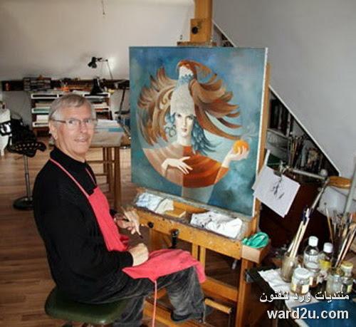 السريالية فى لوحات الفنان الفرنسى Jean Claude Desplanques