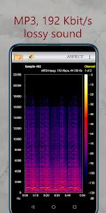 Aspect – Audio Files Spectrogram Analyzer 3.4.3.200781022 Download Mod Apk 2