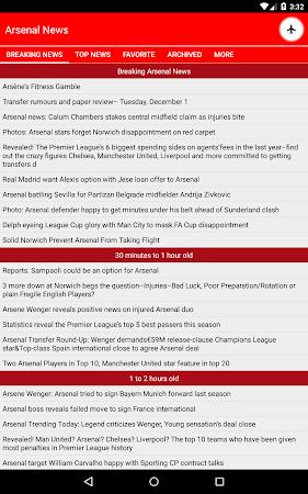 Latest Arsenal News &Transfers 5.6 screenshot 735887