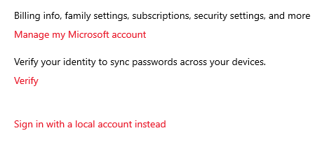 """Click on verify and then when it asks, """"How would you like to get this code?"""", choose your email address."""