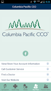ColPac Health mobile app- screenshot thumbnail