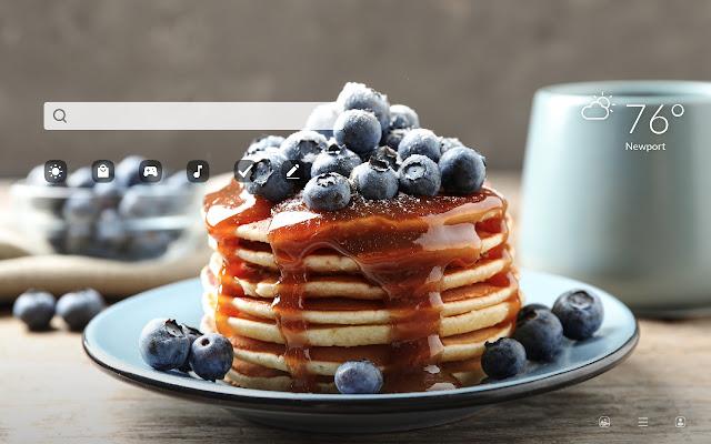 Pancakes HD Wallpapers New Tab