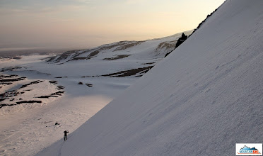 Photo: Matus in the lower part of ascend to Camel