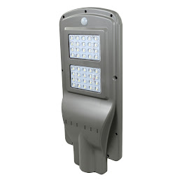 Lampa solara de exterior, LED 40W, All in One, senzor miscare si luminozitate