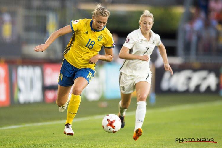 Duitsland wint oefenmatch in Zweden voor meer dan 30.000 fans!