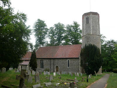 St Andrews Church at Hasketon