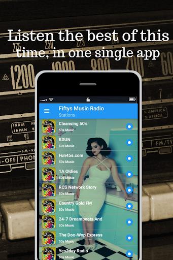 50s music radio - Oldies App Report on Mobile Action - App