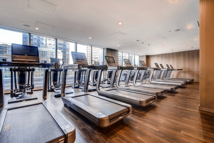 Gym at Global Luxury Suites at Sky