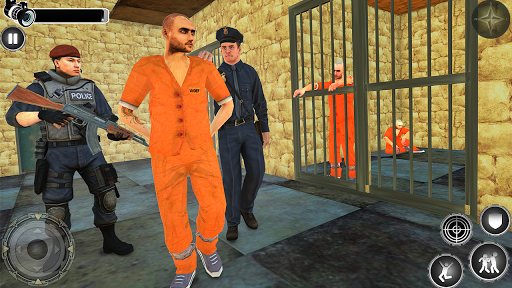 Great Jail Break Mission - Prisoner Escape 2019  captures d'u00e9cran 1