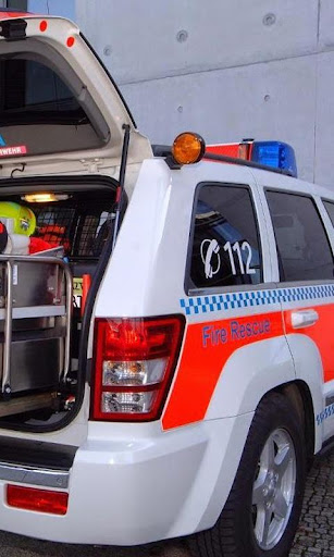 救急車車の壁紙