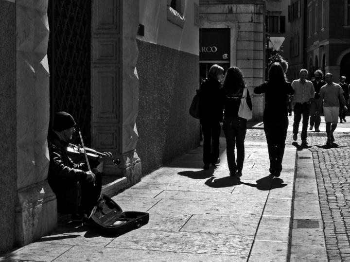 Violino Solitario di c.gasperi
