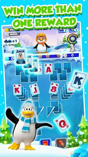 Code Triche Solitaire Match Penguin Adventure APK MOD screenshots 2
