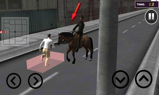 警察馬チェイス:犯罪都市