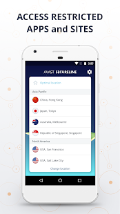 VPN SecureLine by Avast - Unlimited Security Proxy- screenshot thumbnail