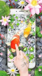 Lively Koi Fish 3D Theme - náhled