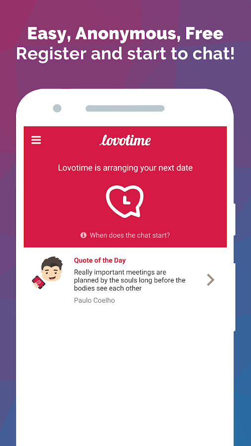 Lovotime - One Date, Every Day- screenshot