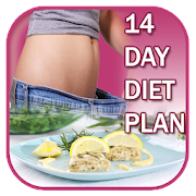 14 Day Diet Plan- lose belly fat in 2 weeks