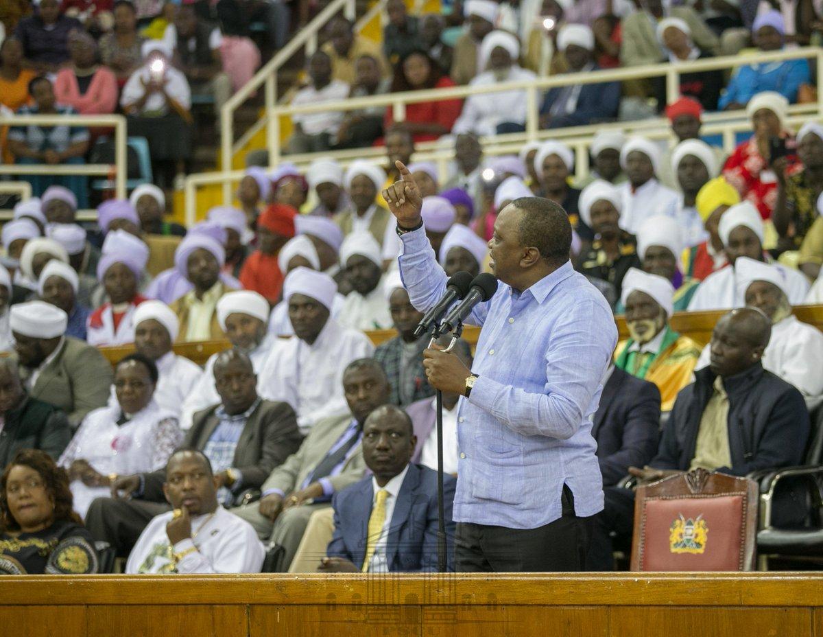 I will crush you, angry Uhuru tells rebels