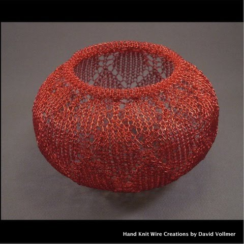 Hand Knit Wire Creations