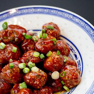 Korean-Style Meatballs