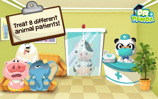 Dr. Panda Hospital - screenshot