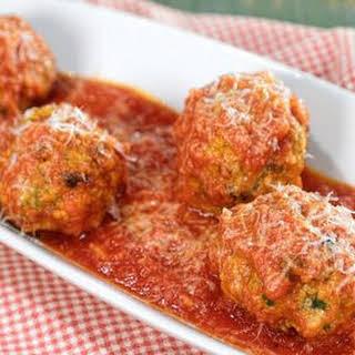 Sicilian Meatballs.