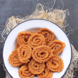 Rice Flour Chakri Or Muruku.