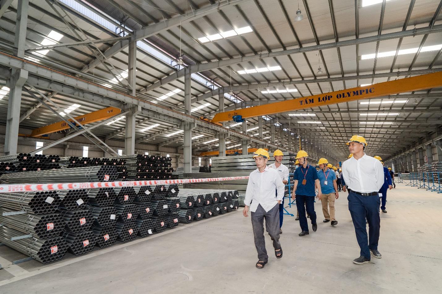 Thép ống Vitek đảm bảo chất lượng cho công trình