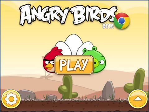 Angry Birds for Chrome