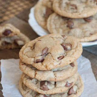 Big, Soft Bakery Style Chocolate Chip Cookies