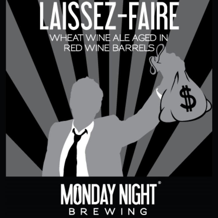 Logo of Monday Night Laissez-Faire Wheat Wine