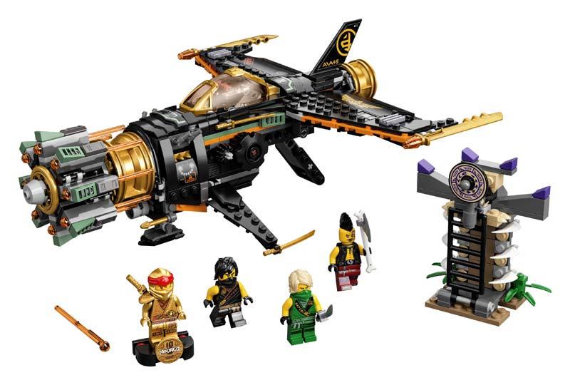 Contenido de Lego® 71736 Destructor de Roca