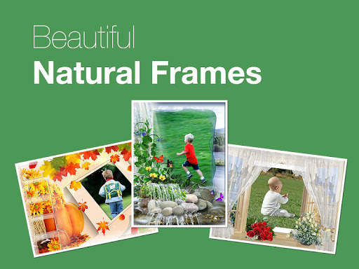Beautiful Natural Photo Frames