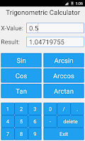 Screenshot of Trigonometric Calculator