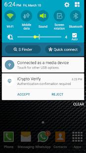 iCrypto - náhled