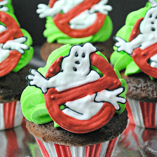 Ghostbusters Cupcakes.