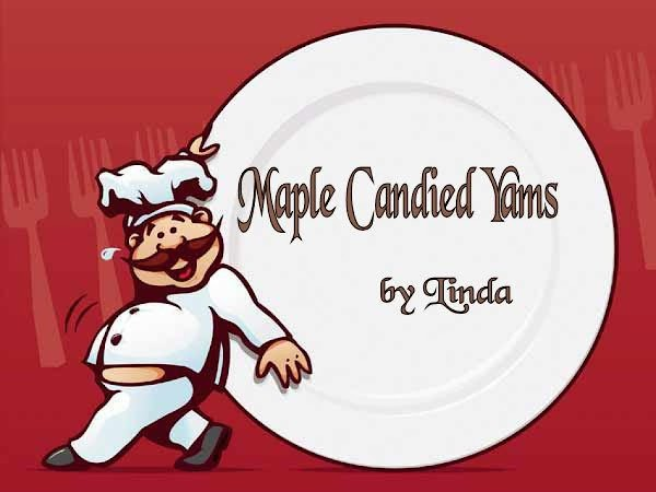 Maple Candied Yams Recipe